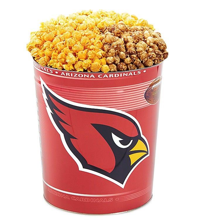 Arizona Cardinals Flavor Popcorn Tins