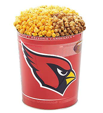Arizona Cardinals 3-Flavor Popcorn Tins