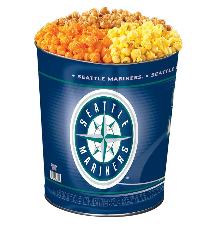 Seattle Mariners Flavor Popcorn Tins