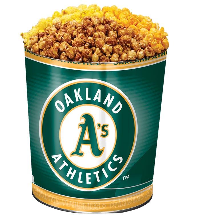 Oakland 'as 3-Flavor Popcorn Tins - 3 Gallon