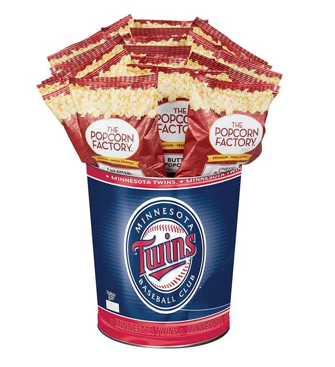 Minnesota Twins Flavor Popcorn Tins