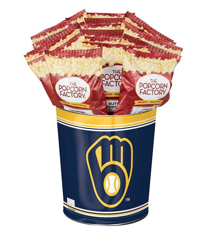 Milwaukee Brewers Flavor Popcorn Tins