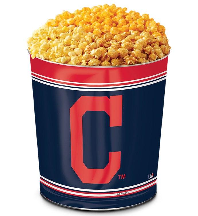 Cleveland Indians Flavor Popcorn Tins