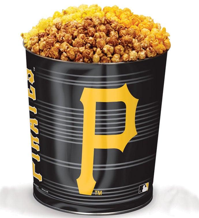 Pittsburgh Pirates Flavor Popcorn Tins