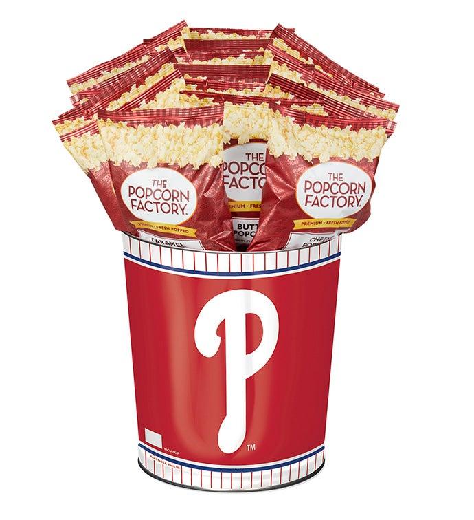 Philadelphia Phillies Flavor Popcorn Tins