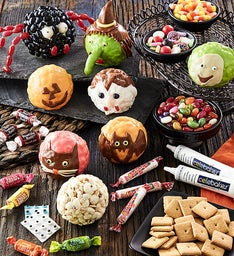 Halloween Popcorn Ball Decorating Kit
