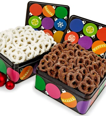 Ornaments Pretzel Tins