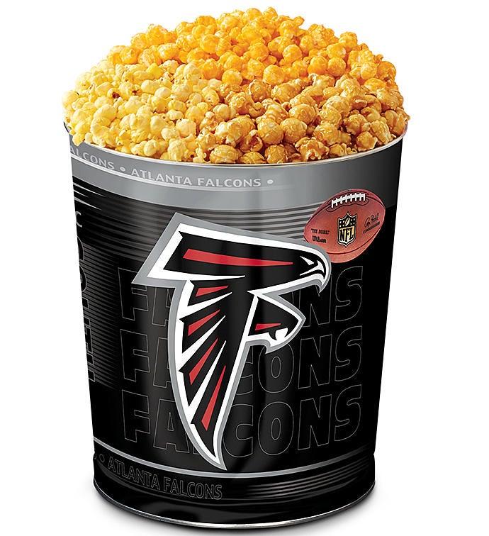 Atlanta Falcons 3 Flavor Popcorn Tins The Popcorn Factory 32568