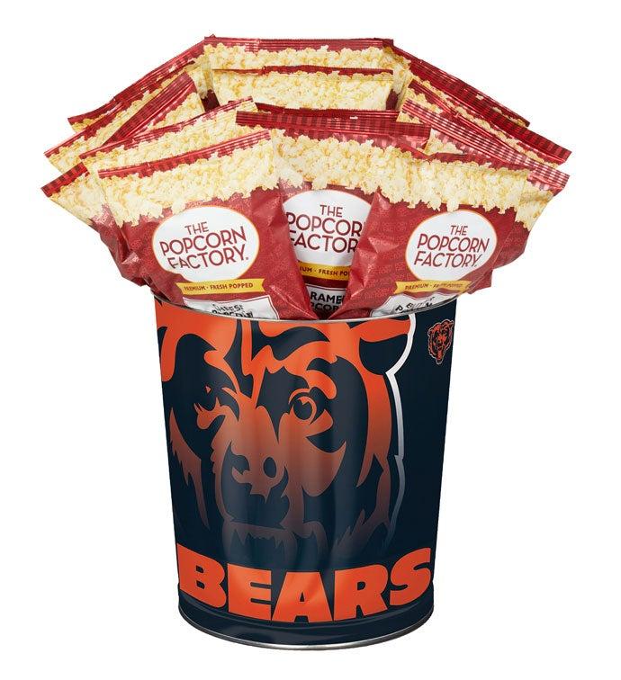 Chicago Bears Flavor Popcorn Tins