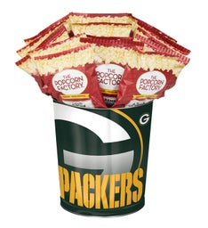 Green Bay Packers Flavor Popcorn Tins