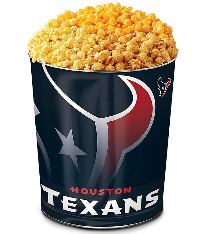 Houston Texans Flavor Popcorn Tins