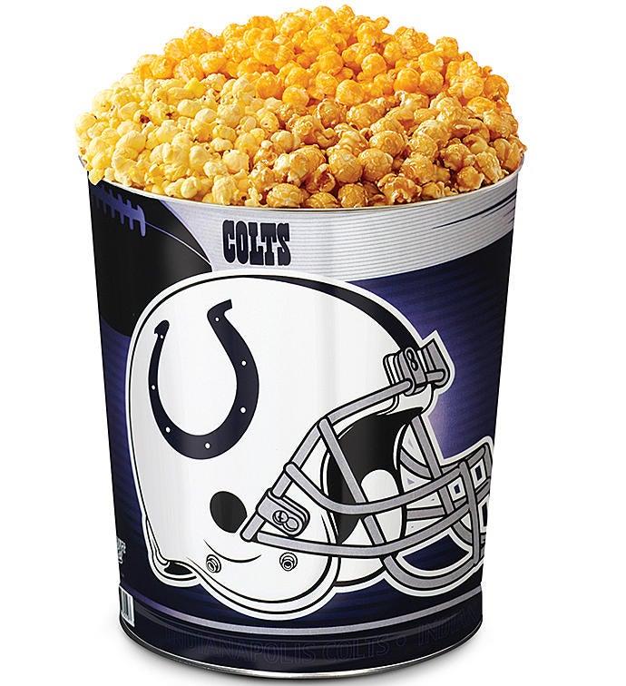 Indianapolis Colts 3-Flavor Popcorn Tins - 3 Gallon