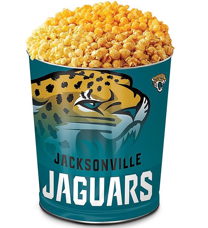 Jacksonville Jaguars Flavor Popcorn Tins