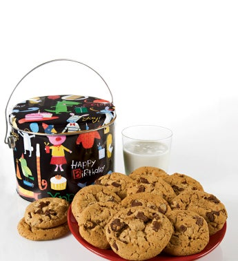Birthday Animal Chocolate Chip Cookies