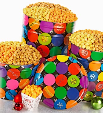 Ornaments! Popcorn Tins