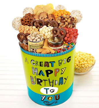 Great Big Happy Birthday Deluxe Snack