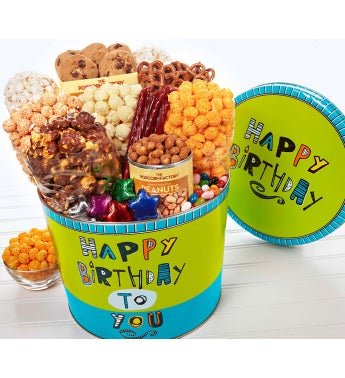 Great Big Happy Birthday Snack Assortment