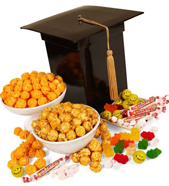 Graduation Cap Treat Box