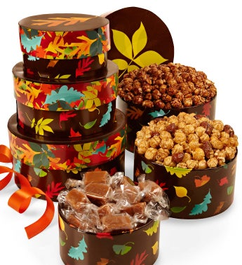 Autumn Prism 3-Tier Caramel Lover's Stack