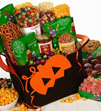Halloween Party Basket