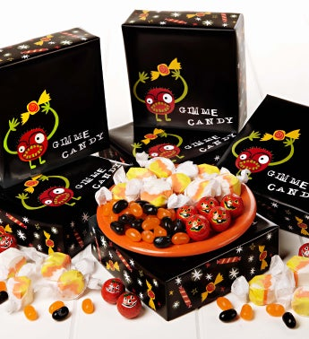 Set of 6 Gimme Candy Treat Boxes