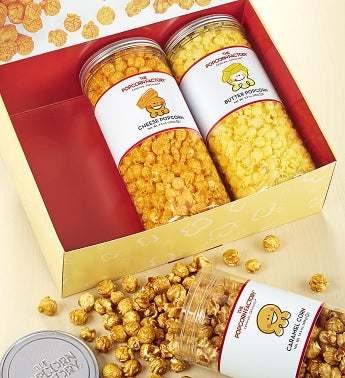 3-Canister Gift Sets - 3-Canister Nut Favorites Assortment