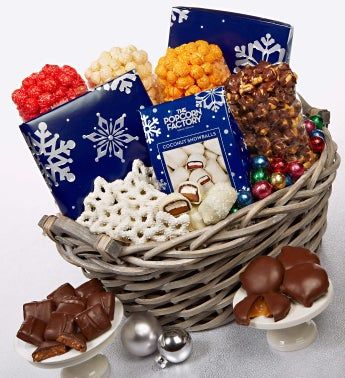 Snowy Night Basket
