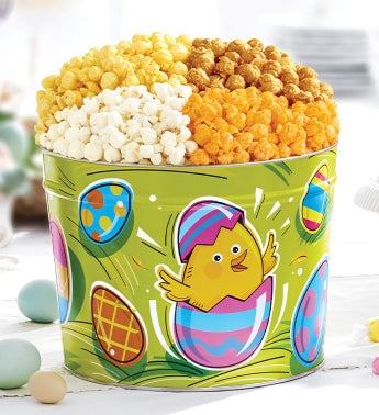 Egg-Ceptional Easter Popcorn Tins