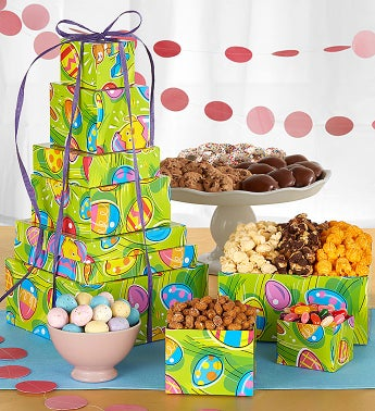 Egg-Ceptional Easter Towers