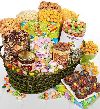 Egg-Ceptional Easter Deluxe Basket