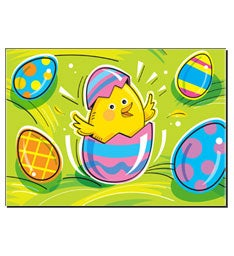 Egg-Ceptional Easter Greeting Card