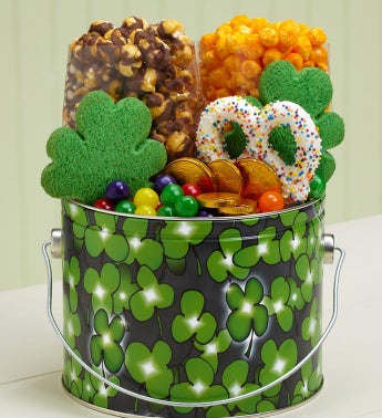 Shamrock Treat Pail