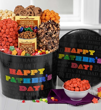 Say it in Color Father's Day Snack Assortment