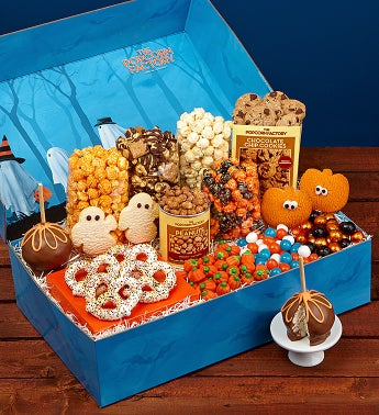 Trick or Trees Snacker's Choice Gift Box