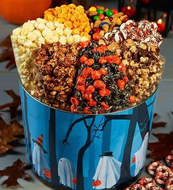 Trick or Trees 7-Way Snack Assortment