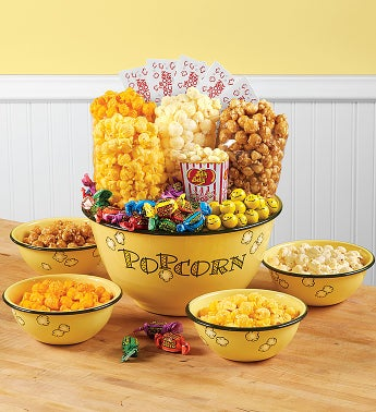 Popcorn Bowls and Snacks