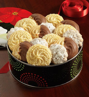 Winter Floral Cookie Assortment