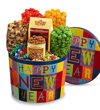 Happy New Year Snack Assortment