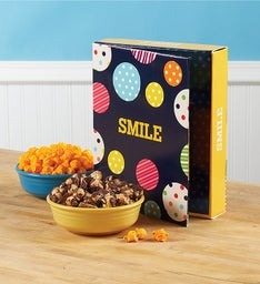 Large Popcorn Card - Smile