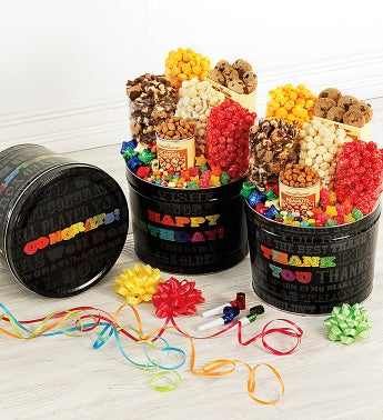 Say It In Color Snack Assortments - Thank You Snack Assortment