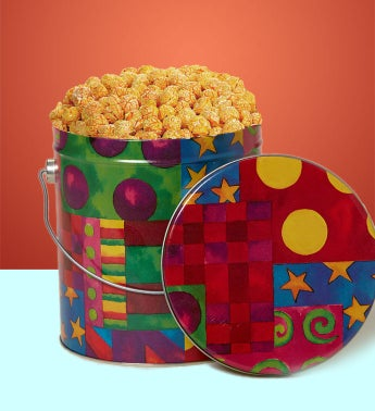 Sriracha Popcorn (1 Gallon Kaleidascope Tin)
