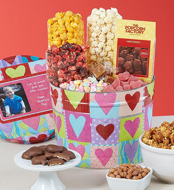 Heart Deco Snack Assortment