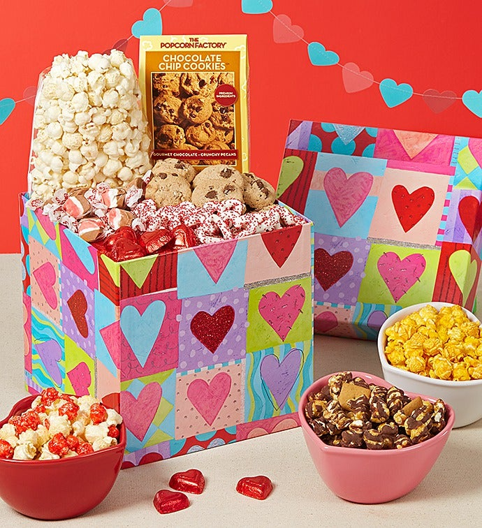 Heart Deco Snack in the Box