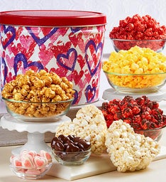 Forever Hearts Snack Assortment