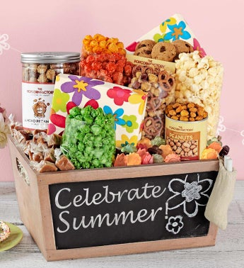 Summer Chalkboard Basket