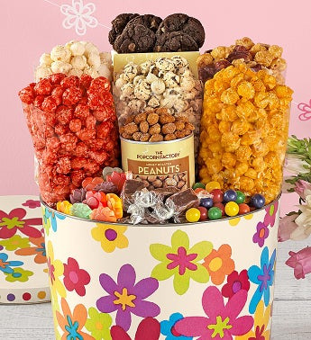 Summer Floral Snack Assortment