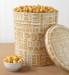 Caramel Lovers Popcorn Tin