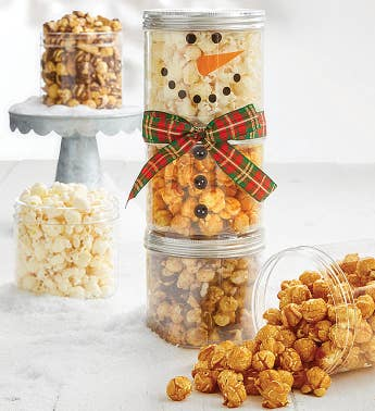 Snowman Canister Stack