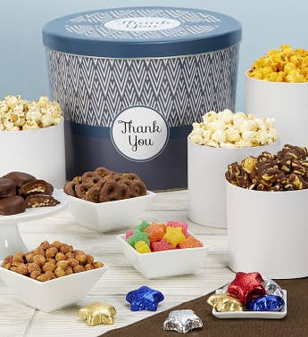 Simply Stated Thank You Snack Assortment