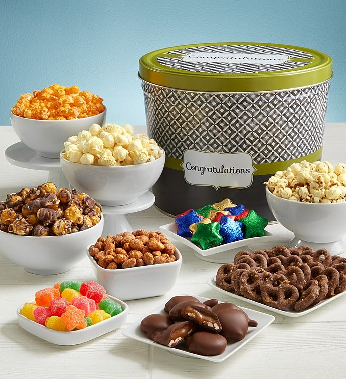 Simply Stated Congratulations Snack Assortment